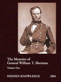Cover for Sherman's Memoirs Volume One