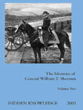 Cover for Sherman's Memoirs Volume Two